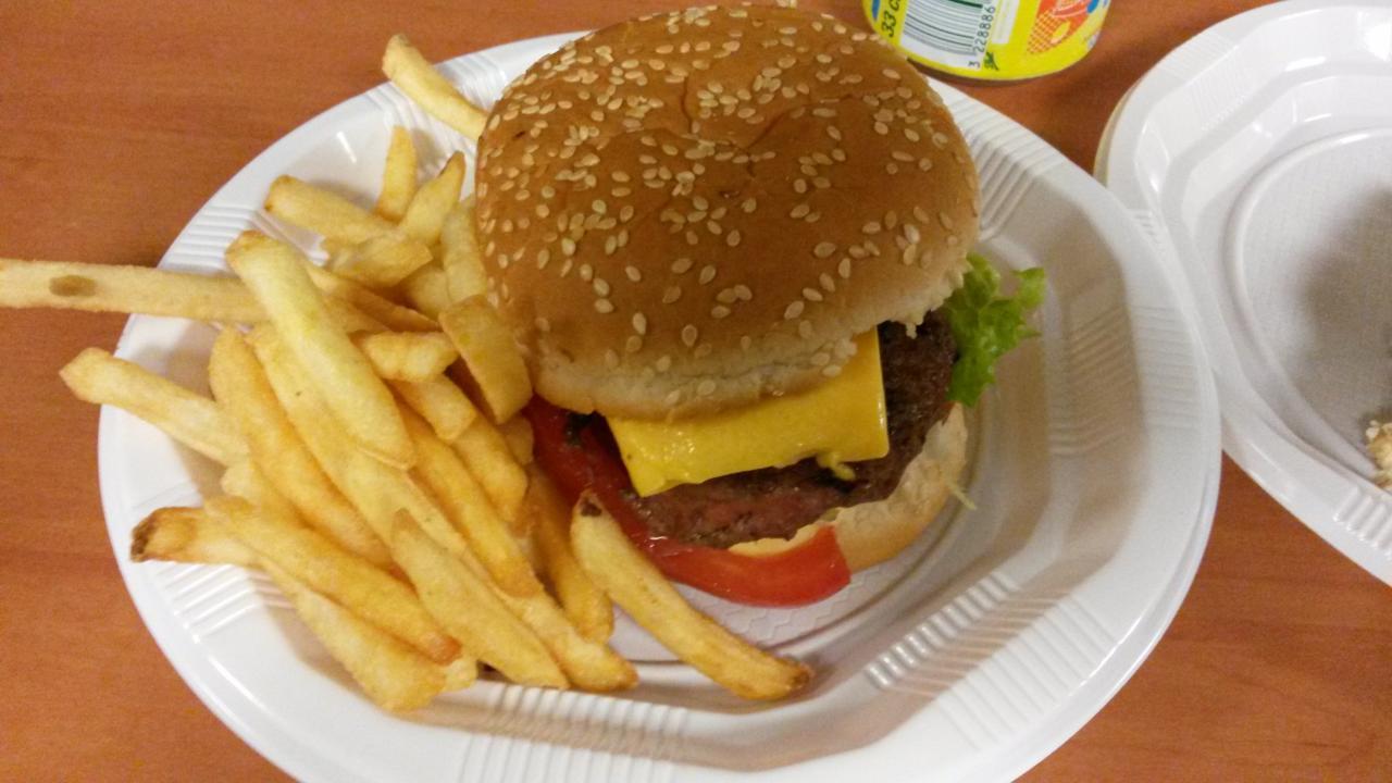 Burger/frites