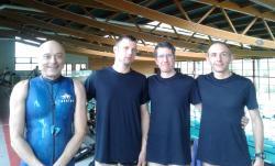 Les pruneaux: Patrice, François, Pascal, Lionel