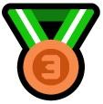 Medaille 3e
